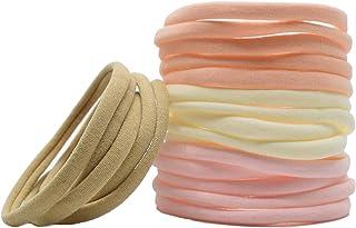 Super Soft Nylon Headband For Newborn Baby Girl Kids, High Stretchy, 20 Pcs For DIY Crafts