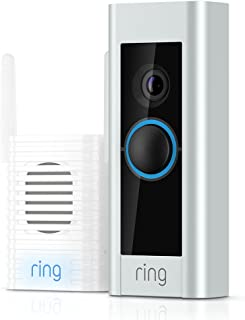 Ring Video Doorbell Pro - Chime Pro Included, (Existing Doorbell Wiring Required)