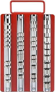 "Neiko 02458A Universal Socket Holders in Organizer Tray Multi-Drive (40 Piece), 1/4""/3/8""/1/2"""