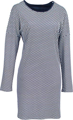 Rösch Damen-Nachthemd Feininterlock-Jersey Marine Größe 48