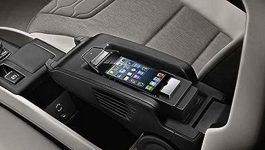 BMW Apple Iphone 5 5s Snap-in Media Cradle Holder Adapter Music Basic New OEM (BLACK)