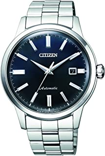 CITIZEN Mens Mechanical Watch, Analog Display and Solid Stainless Steel Strap - NK0000-95L