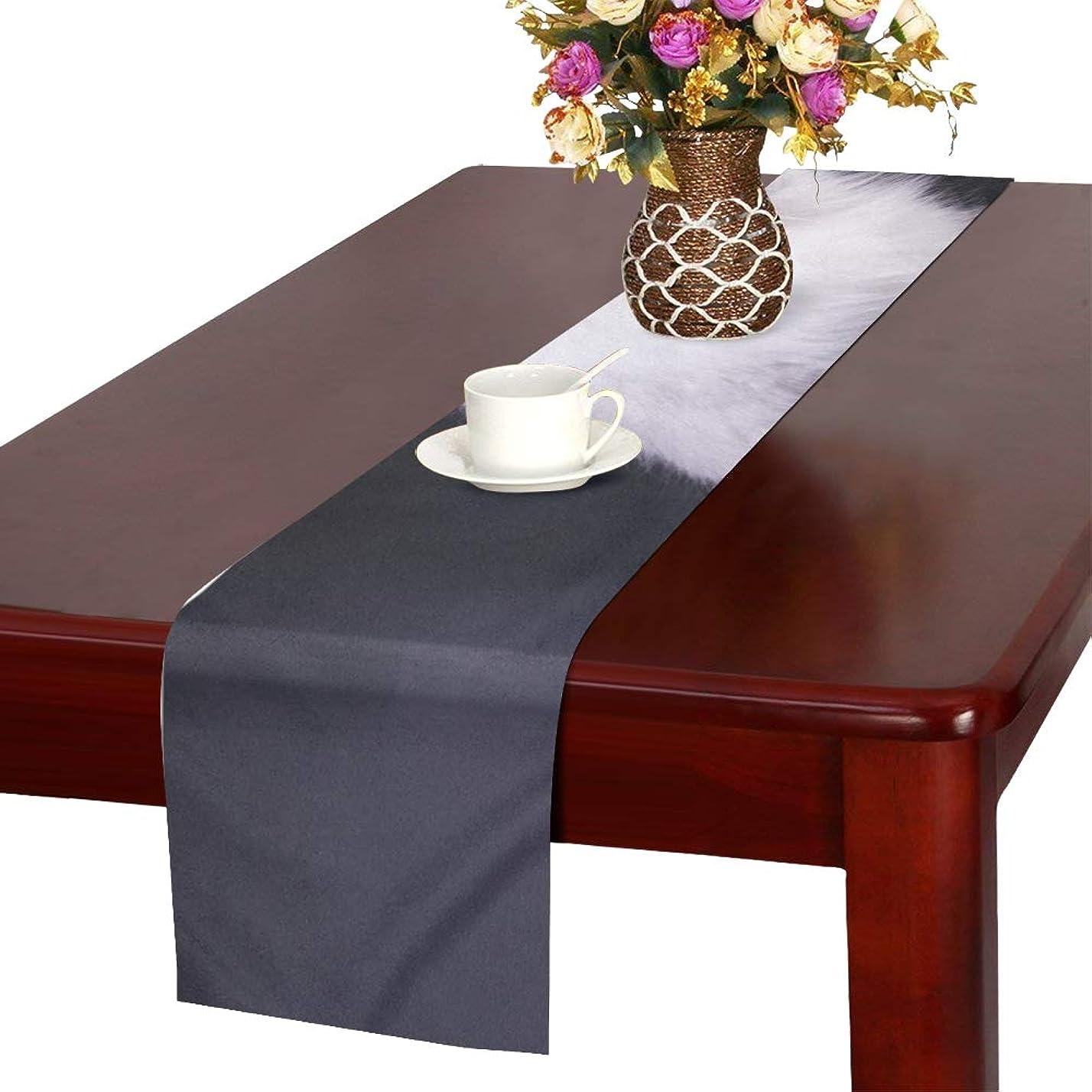 複雑な愚かなスカウトGGSXD テーブルランナー 優雅なペルシア猫 クロス 食卓カバー 麻綿製 欧米 おしゃれ 16 Inch X 72 Inch (40cm X 182cm) キッチン ダイニング ホーム デコレーション モダン リビング 洗える
