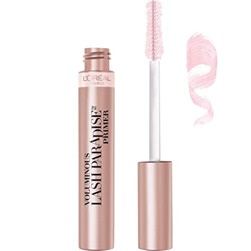 L'Oreal Paris Cosmetics Voluminous Lash Paradise Mascara Primer/Base, Millennial Pink,