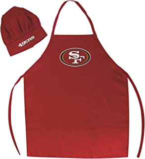 info for 67cd7 b5bcc San Francisco 49ers NFL Barbeque Apron and Chef  039 s Hat