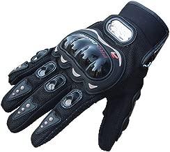 Tuopuda Guantes Moto Verano Guantes Proteccion para Moto Bici Motocicleta Deporte Trabajando 1 pair (XL)