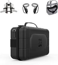 AMVR, custodia per controller touch, custodia da viaggio in pelle, maschera in silicone, supporto per display per cuffie V...