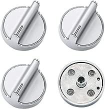 Repairwares Surface Burner Head Control Knob W10594481 WPW10594481 AP6023301 PS11756643 for Select Whirlpool Gas Range//Stove//Cooktop Models