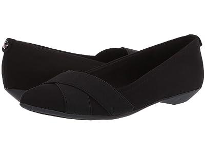 Anne Klein Sport Oalise (Black/Black Fabric 2) Women