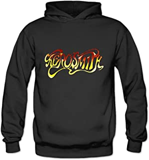 AiK Aerosmith Rock Band Boston Logo Women's Hoodies Pullover Sweater