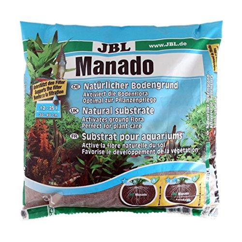 JBL Manado, suelo natural para acuarios de agua dulce, 3 Litros