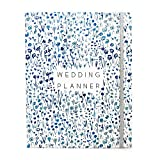Something Blue Modern Wedding Planner Book and Organizer for Brides with Gift Box   Engagement Gift and Wedding Journal for Couples   Checklists, Calendar, Budget Planning, Guest List