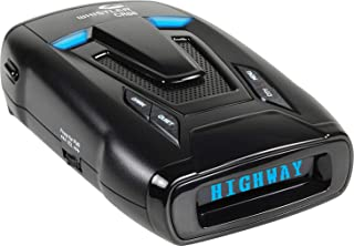Whistler CR88 High Performance Laser Radar Detector: 360 Degree Protection and Bilingual Voice Alerts,Black