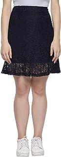 Honey by Pantaloons Women's Frills Knee-Long Skirt