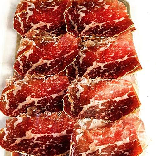 200g Cecina de León, Rinderschinken, geräuchert und 1 Jahr luftgetrocknet geschnitten