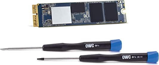 OWC 480GB Aura Pro X2 NVMe Flash Add-On Solution for Mac Mini (Late 2014), Including Tools & Installation Components (OWCS3DAPT4MM05K)