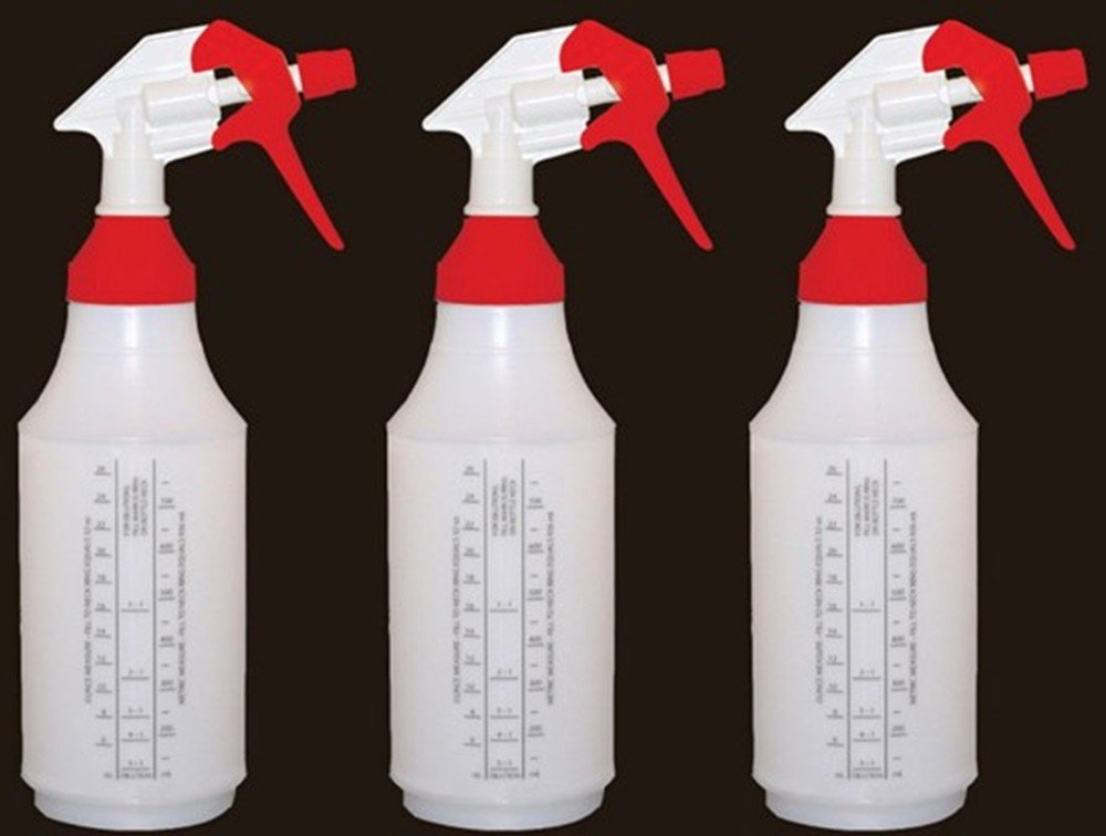 Spray Bottles Max 88% OFF with Large Top for 3 Reusable Filling 32oz Easy Max 54% OFF