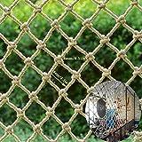 KinderAbsturzsicherungsnetzSchutznetzJuteseilnetz, bambino / sicurezza dell'animale domestico rete di maglia decorativa negozio di abbigliamento vestiti appesi griglia del soffitto terrazza all'aperto