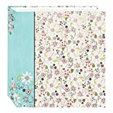 Pioneer Photo Albums TR-100D Explosion Magnetic 3-Ring Photo Album 100 Page, Bold Flower...
