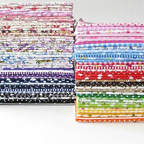 84 Stück 25cm * 25cm keine Wiederholungs-Entwürfe druckten Baumwollgewebe für Patchwork,patchwork stoffe,baumwollstoff meterware,stoffe patchwork stoffpaket