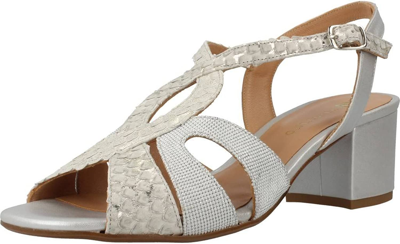 Platino Sandalen Sandaletten, Farbe Silber, Marke, Modell Sandalen Sandaletten 1165427 Silber
