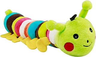 PETHOUZZ Pet Chew & Squeaker Toy Dog Sounding Toy (Caterpillar)