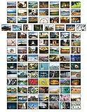 Paisajes postales – 100 tarjetas postales diferentes