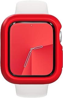 RhinoShield Apple Watch Series 1/2/3 [42mm用] 保護ケース | 衝撃吸収 傷防止 スリムデザイン BPAフリー [1.2Mの耐落下衝撃] - レッド