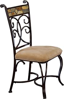 Best black wrought iron dining set Reviews