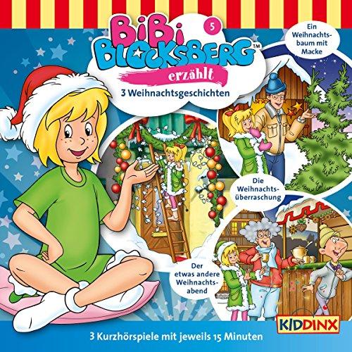 3 Weihnachtsgeschichten (Bibi Blocksberg erzählt 5) Titelbild