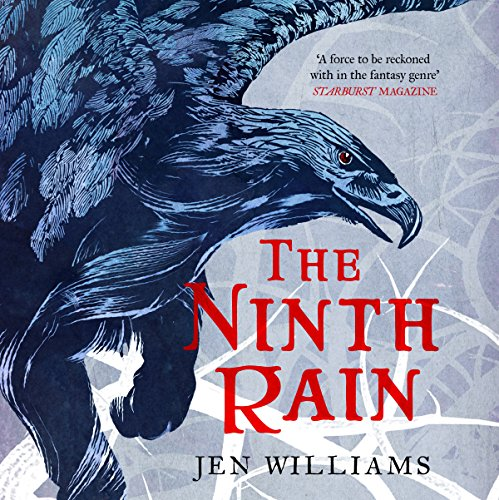 The Ninth Rain audiobook cover art
