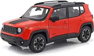 Welly Jeep Renegade Trailhawk, orange, 0, Modellauto, Fertigmodell, 1:24