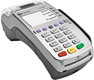 VeriFone VX 520 Dual Com 160 Mb Credit Card Machine, EMV (Europay, MasterCard, Visa) and NFC (Near Field Communication) or Contactless, Dial Up and Internet Connectivity