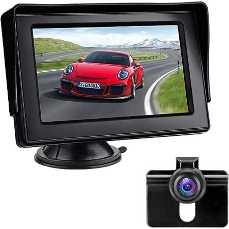 Rückfahrkamera Mit Monitor Auto Rückfahrkamera Ip68 Elektronik