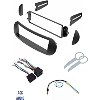 [DIAGRAM_0HG]  Amazon.com: ASC Car Stereo Dash Kit, Wire Harness, Antenna Adapter, and  Radio Tool for Installing a Single Din Radio for select VW Volkswagen Beetle  Vehicles - Compatible Vehicles Listed Below: Car Electronics | 2000 Vw Beetle Wiring Harness Install |  | Amazon.com