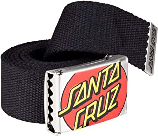 Santa Cruz Crop Dot Belt - Black