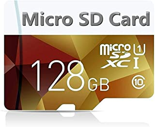 128GBマイクロSD SDXCメモリーカードプラスアダプターパック(クラス10)超高速TF MicroSDXC