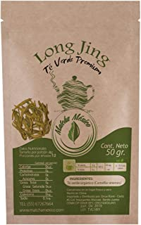 Té verde Long Jing 50g Antioxidante