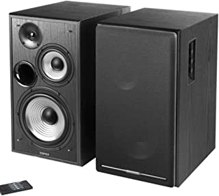 New SPE-R2750DB-BLACK R2750DB-BLACK, EDIFIER R2750DB Active 2.0 Speaker System with Sophisticated Sound in A TRI-AMP Audio...