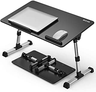 [Large Size] Besign Adjustable Latop Table, Portable Standing Bed Desk, Foldable Sofa Breakfast Tray, Notebook Computer St...