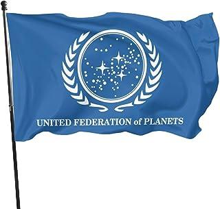 Tischflagge Star Trek United Federation of Planets Fahne Flagge 10 x 15 cm