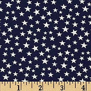 Best navy and white star fabric Reviews