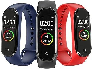 smartwatch sportowy inteligentny ekran dotykowy M4 nowy zegarek męski tętno ciśnieniomierz wielofunkcyjna bransoletka zdro...