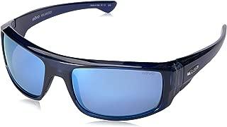 Revo Re 5006x Dash Wraparound Polarized Wrap Sunglasses, Crystal Blue Blue Water, 60 mm
