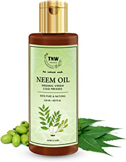 Sponsored Ad - TNW-THE NATURAL WASH Multipurpose Pure Neem Oil for Hair & Skin - Remove pimples, acne and cure any fungal ...
