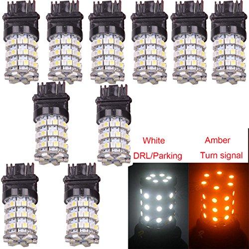 ABY (2 3157 3528 SMD 60 Blanc/Ambre la piste Stop Signal LED Ampoules