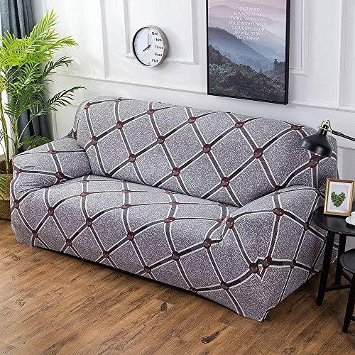 HXTSWGS Fundas de Sofa Cubierta de Sofa,Funda elástica para Asiento de sofá, Funda Protectora Lavable para sofá Funda decorativa-G274682_145-185cm