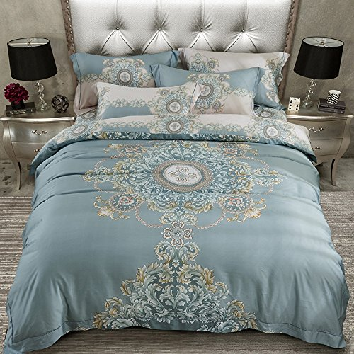 Lowest Price! BB.er Tencel Satin bedding sets 2-sided wire slide spring and summer double-bed home t...