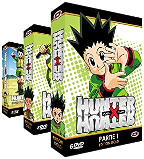 Hunter X Hunter - Intégrale + OAVs - Edition Gold - 3 Coffrets (19 DVD + Livrets) (B006K6IU1O) | Amazon price tracker / tracking, Amazon price history charts, Amazon price watches, Amazon price drop alerts
