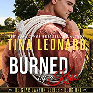 Burned by a Kiss audiobook cover art